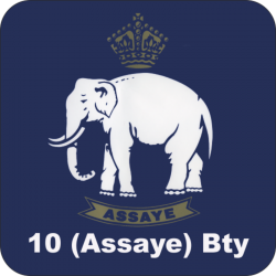 10 (Assaye) Battery Coaster