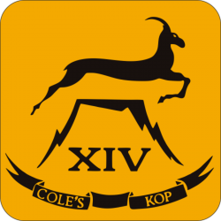 14 (Cole's Kop) Battery Coaster