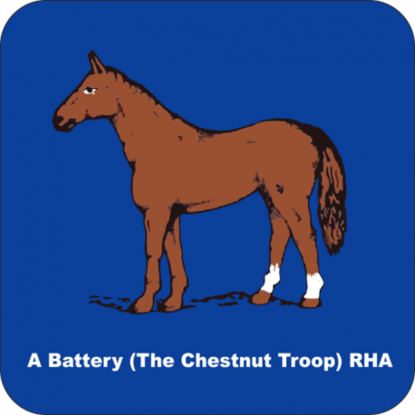 A Battery (The Chestnut Troop) Coaster