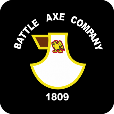 74 Battery (The Battle Axe Company) Coaster