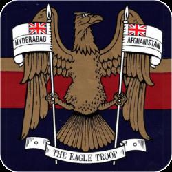 N Battery (The Eagle Troop) Coaster