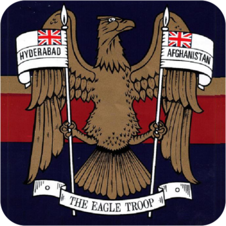 N Battery (The Eagle Troop) Coaster