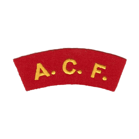 ACF Arched Patch