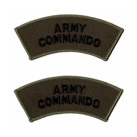 Army Commando Shoulder Flash